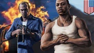 GTA 5: CJ teaches Trevor cheats!