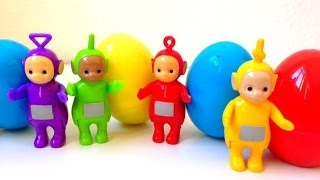 Teletubbies and Surprise Eggs