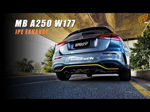 The iPE Exhaust for Mercedes  A250 W177