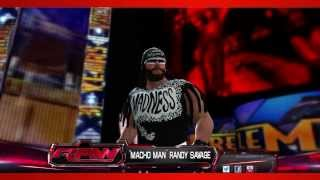 "WWE 2K14 Entrances & Finishers Videos: ""Macho Man"" Randy Savage (NWO)"