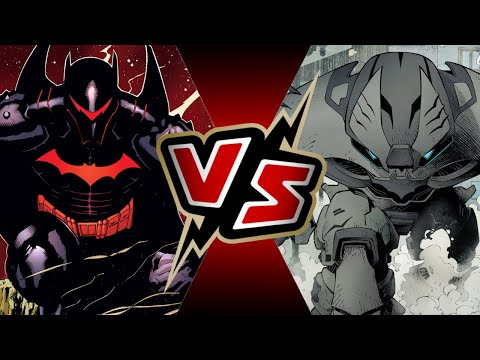 Hellbat Armor VS Justice League Buster | BATTLE ARENA