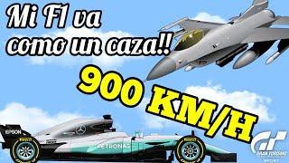 Gran Turismo Sport - Pongo mi F1 a 900 km/h !!! Glitch supervelocidad!