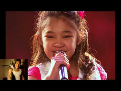 Angelica Hale: 9-Year-Old Earns Golden Buzzer From Chris Hardwick - AGT 2017 -  wow 😮Reaction