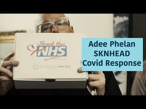 Swoop Stars | How Adee Phelan has tackled Covid-19 | SKNHEAD LONDON