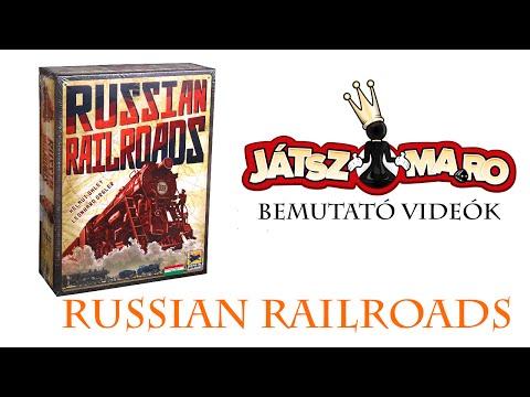 Russian Railroads bemutató - Jatszma.ro