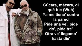 Contra La Pared-Sean Paul & J Balvin-Letra\Lyrics