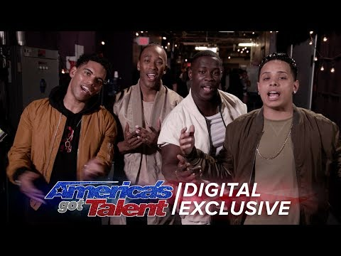 Elimination Interview: Final Draft Shares An Appreciation For Their Fans - America's Got Talent 2017 (видео)