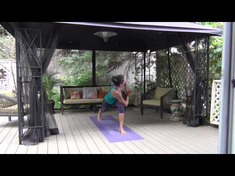"15 min. Vinyasa Yoga Flow with Becca Pati: ""LET GO AND REMEMBER WHO YOU ARE"""