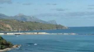 preview picture of video 'Castellammare del Golfo il porto in costruzione'