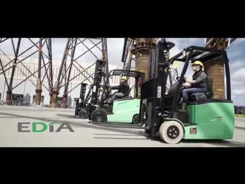 immagine di anteprima del video: Mitsubishi EDiA: i carrelli elevatori elettrici preferiti nel mondo