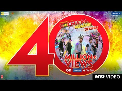 Golmaal Again (2017) Movie Trailer