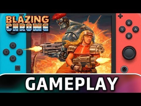Blazing Chrome | First 10 Minutes on Switch