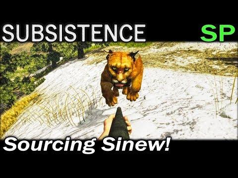Sourcing Sinew! | Subsistence Single Player Gameplay | EP 86 | Season 5