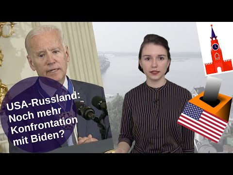 USA-Russland: Noch mehr Konfrontation mit Biden? [Video]