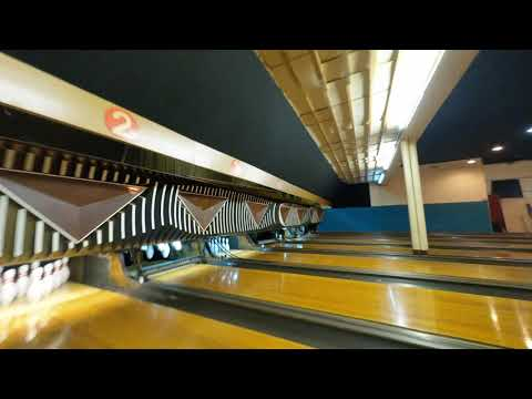 A Drone's Eye View of a Bowling Alley