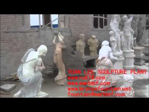 estatuas de fibra de vidrio