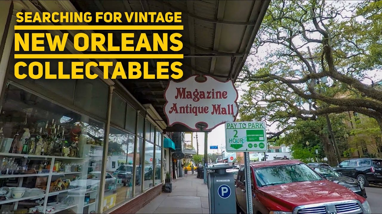 Go Antique Shopping