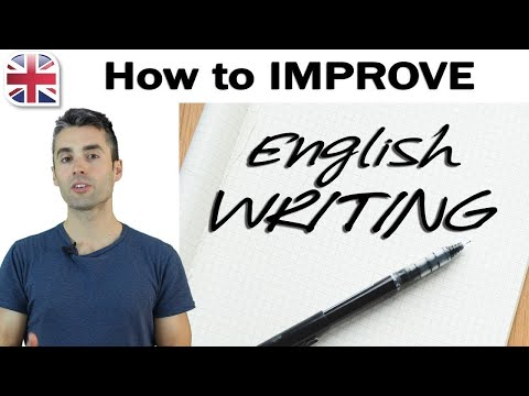 how to improve your english writing english writing lesson