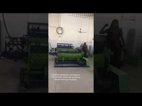 GI Chain Link Fencing Machine