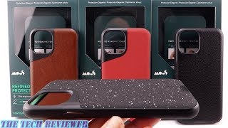*New* Mous Contour for iPhone 11 Pro: Serious Impact Protection in a Slim Leather Case!