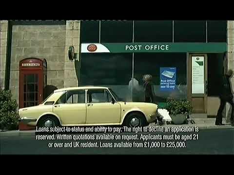 Post Office Advert UK 2005