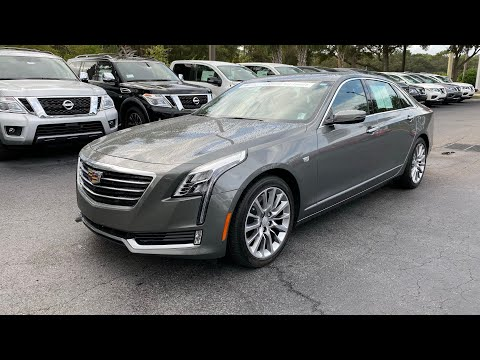 Certified Pre-Owned 2017 Cadillac CT6 4dr Sdn 3.6L Premium Luxury AWD