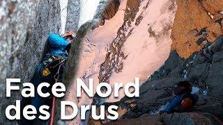 #1 Face Nord du Petit Dru voie Pierre Allain Raymond Leininger Chamonix Mont-Blanc alpinisme