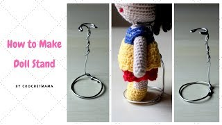 How To Make A Doll Stand
