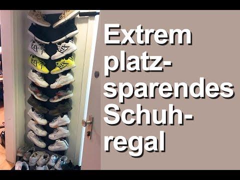 Ordnung in kleinen Räumen - Platzsparendes Schuhregal