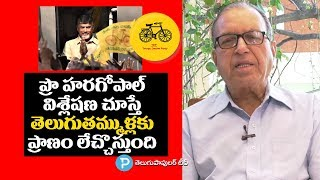 What is the Future of TDP and Chandrababu Naidu? Prof Haragopal Explained   In Depth