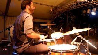 Blues na bateria - train beat, ou country blues, ao vivo