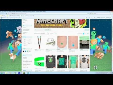 Neue Minecraft Merchandise Produkte für Minecraft