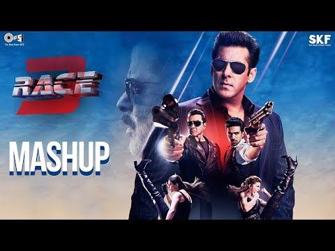 Race 3 Official Mashup | Kiran Kamath | Anil Kapoor, Salman Khan, Jacqueline, Bobby, Daisy, Saqib