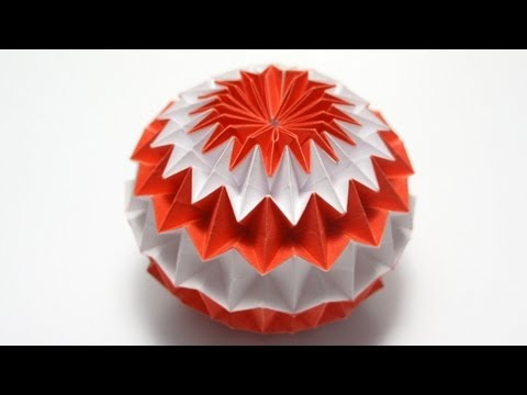 Origami Magic Ball (Dragon's Egg by Yuri Shumakov)