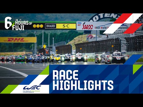 【決勝レースハイライト動画】WEC 第2戦 富士6時間レース