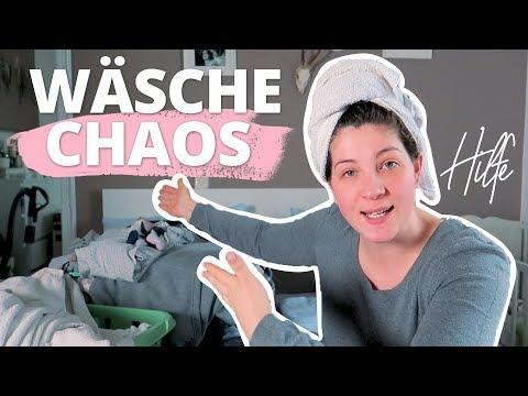 HILFE! ICH VERSINKE IM WÄSCHECHAOS | Action Haul & Haushalt | VLOG #70