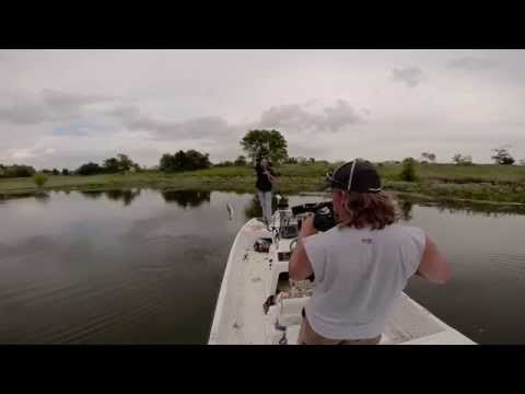 Test Pond- Bass Fishing-Custom Plastics Testing