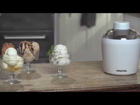, Gourmia GSI480 Automatic Ice Cream Maker with Built-In Cooling System