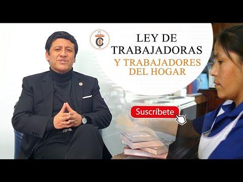 LEY DE TRABAJADORAS Y TRABAJADORES DEL HOGAR - TC183