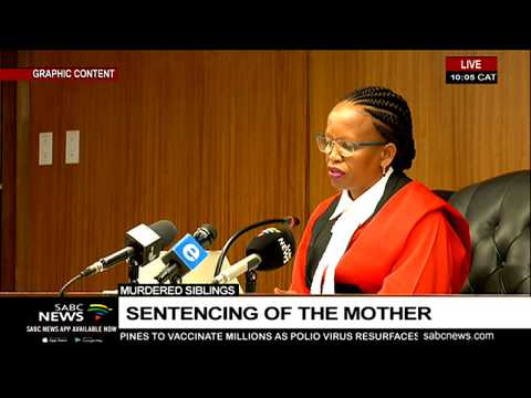 Zinhle Maditla sentenced to 4 life prison terms for killing her children