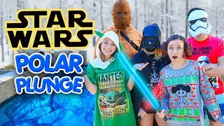 POLAR PLUNGE 2020 (Star Wars Edition) | Brooklyn & Bailey Traditions