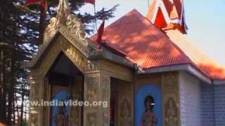Jakhoo Temple at Jakhoo hills in Shimla