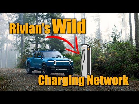 """Rivian Unveils """"Exclusive"""" Charging Network"""