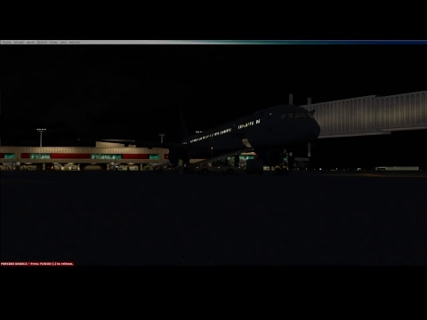 FSX] QualityWings 757 Shared Cockpit w/ Travis | AAL1448