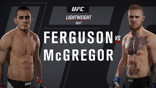 Фергюсон vs Макгрегор ( Тони Фергюсон против Конара Макгрегора )