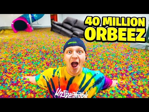 FILLING MY ENTIRE HOUSE WITH ORBEEZ!
