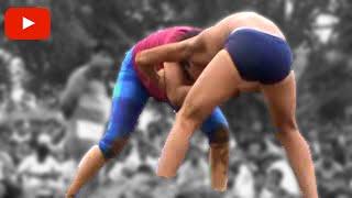 Kushti Men Vs Women : Wrestler Aarti Vs Male Opponent : महिला पहलवान आरती गुरु प्रेमनाथ