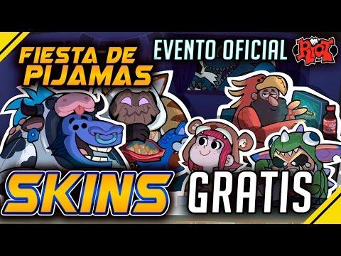 SKIN y CAJAS GRATIS - Evento OFICIAL de RIOT ¡Fiesta de PIJAMAS! | Noticias League Of Legends LOL