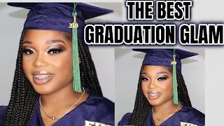 THE PERFECT MAKEUP FOR SENIOR PICTURES AND GRADUATION!!! | Glam Doll Beat | Graduation Makeup