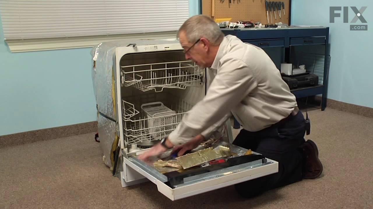 Replacing your Maytag Dishwasher Inner Door Foam Insulation Strip